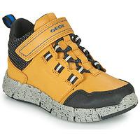 Skor Pojkar Boots Geox FLEXYPER ABX Honung