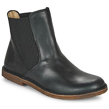 Skor Dam Boots Kickers TINTO Svart