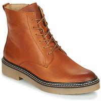 Skor Dam Boots Kickers OXIGENO Kamel / Orange