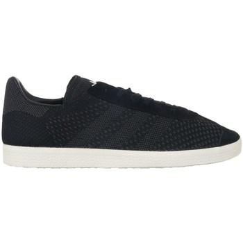 Skor Herr Sneakers adidas Originals Gazelle Primeknit Svarta