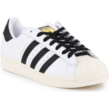 Skor Herr Sneakers adidas Originals Superstar Laceless Vit,Svarta