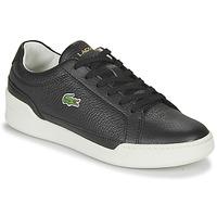 Skor Dam Sneakers Lacoste CHALLENGE 0120 1 SFA Svart / Vit