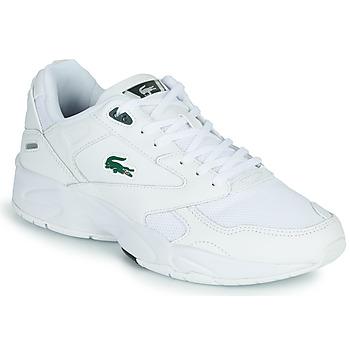 Skor Herr Sneakers Lacoste STORM 96 LO 0120 3 SMA Vit / Grön
