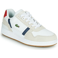 Skor Herr Sneakers Lacoste T-CLIP 0120 2 SMA Vit / Marin / Röd