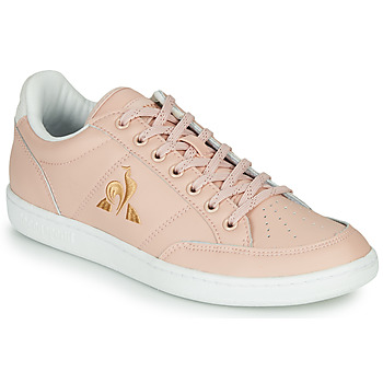 Skor Dam Sneakers Le Coq Sportif COURT CLAY W Rosa