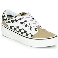 Skor Dam Sneakers Vans SHAPE NI Beige / Vit