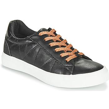 Skor Dam Sneakers Le Temps des Cerises VIC Svart