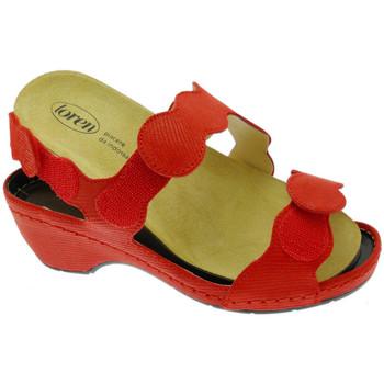 Skor Dam Sandaler Calzaturificio Loren LOE687ro rosso