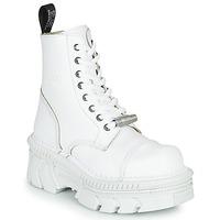 Skor Boots New Rock M-MILI083CM-C56 Vit