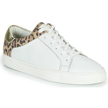 Skor Dam Sneakers Les Tropéziennes par M Belarbi LOUANE Vit / Leopard