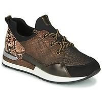 Skor Dam Sneakers Remonte Dorndorf R2503-24 Brun / Reptil