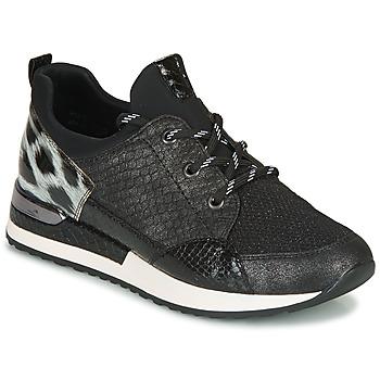 Skor Dam Sneakers Remonte Dorndorf R2503-45 Svart / Leopard