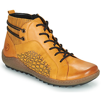 Skor Dam Höga sneakers Remonte Dorndorf R1499-68 Gul