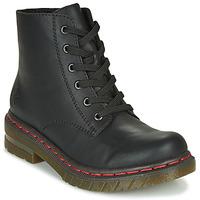 Skor Dam Boots Rieker 76240-00 Svart