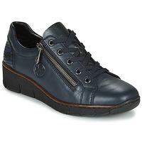 Skor Dam Sneakers Rieker 53702-14 Blå