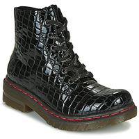 Skor Dam Boots Rieker 76246-00 Svart