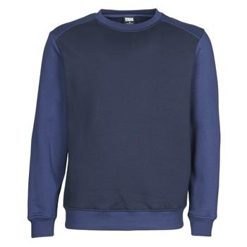 textil Herr Sweatshirts Urban Classics TB3830 Marin