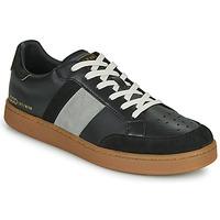 Skor Herr Sneakers Serafini WIMBLEDON Svart / Grå