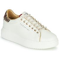 Skor Dam Sneakers Serafini J.CONNORS Vit / Pytonfärgad