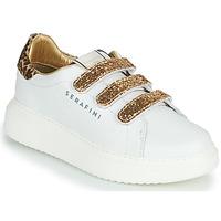 Skor Dam Sneakers Serafini J.CONNORS Vit / Guldfärgad