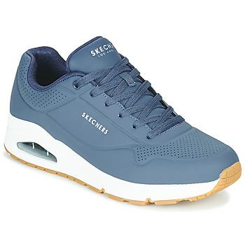 Skor Herr Sneakers Skechers UNO STAND ON AIR Marin