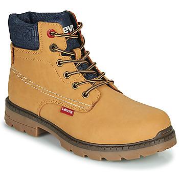 Skor Barn Boots Levi's NEW FORREST Kamel