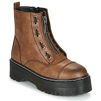 Skor Dam Boots Emmshu AVRIL Cognac