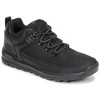 Skor Herr Sneakers Kappa MONSI LOW Svart
