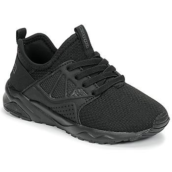 Skor Pojkar Sneakers Kappa SAN DIEGO ELASTIC Svart