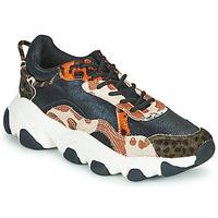 Skor Dam Sneakers Gioseppo ALEKSIN Svart / Orange