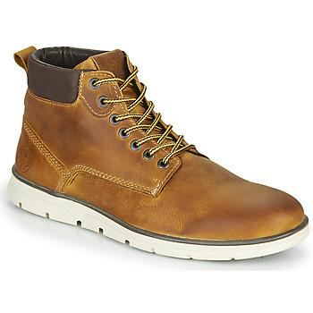 Skor Herr Boots Jack & Jones JFW TUBAR LEATHER Brun
