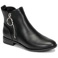 Skor Dam Boots Only BOBBY 22 PU ZIP BOOT Svart