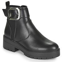 Skor Dam Boots Only BRANKA-5 PU BUCKLE BOOT Svart