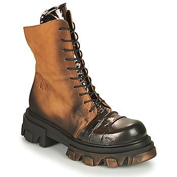 Skor Dam Boots Papucei NURIA Brun / Svart