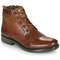 Skor Herr Boots Redskins NISSA Cognac