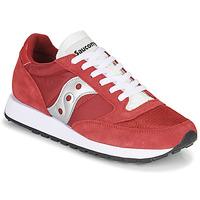Skor Herr Sneakers Saucony JAZZ VINTAGE Röd / Vit