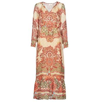 textil Dam Långklänningar Cream SANNIE DRESS Flerfärgad