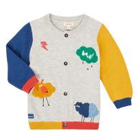 textil Pojkar Koftor / Cardigans / Västar Catimini CR18020-20 Flerfärgad