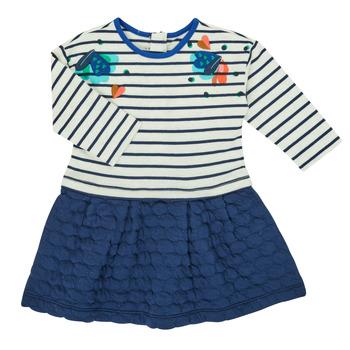 textil Flickor Korta klänningar Catimini CR30133-12 Flerfärgad