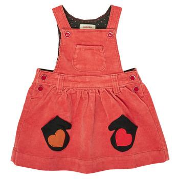 textil Flickor Korta klänningar Catimini CR31003-67 Röd