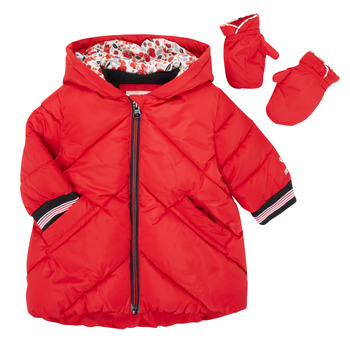 textil Flickor Täckjackor Catimini CR42013-38 Röd