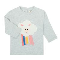 textil Flickor Långärmade T-shirts Catimini CR10093-21 Grå