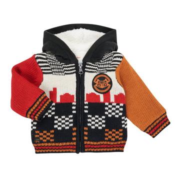 textil Pojkar Koftor / Cardigans / Västar Catimini CR18062-17 Flerfärgad