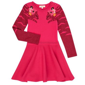 textil Flickor Korta klänningar Catimini CR30085-35 Rosa