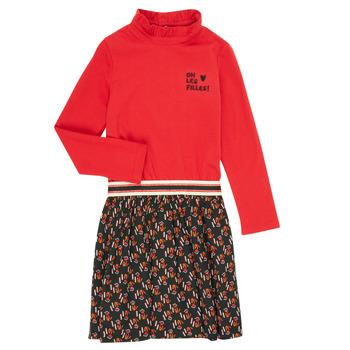 textil Flickor Korta klänningar Catimini CR30035-38-C Flerfärgad