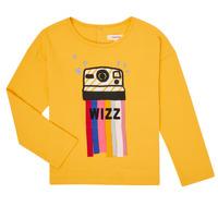 textil Flickor Långärmade T-shirts Catimini CR10135-72-C Gul