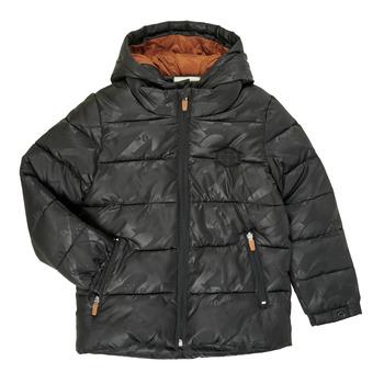 textil Pojkar Täckjackor Catimini CR41034-02-C Svart