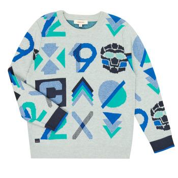 textil Pojkar Tröjor Catimini CR18034-23-C Flerfärgad