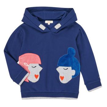 textil Flickor Sweatshirts Catimini CR15065-46-J Blå