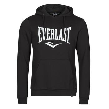 textil Herr Sweatshirts Everlast BASIC-HOODED-TAYLOR Svart